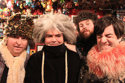 After all these years, Buzz Osborne's hair still has its own ZIP code.