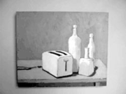"Ted Byrom's ""Still Life, Toaster & Bottles"""