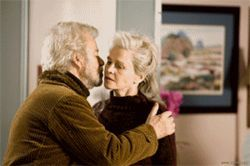 Hello, stranger: Gordon Pinsent and Julie Christie are a couple devastated by Alzheimer's disease in Away From Her.
