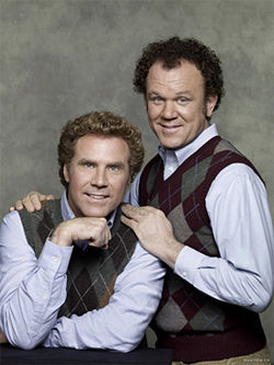 Man, how did argyle sweater vests ever go out of style? Ferrell and Reilly in Step Brothers