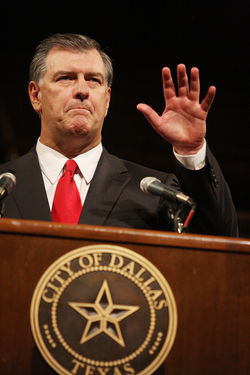 Mike Rawlings' promises are already looking harder to keep.