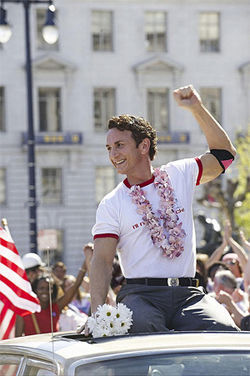 Sean Penn as Harvey Milk, a man of his time and ours
