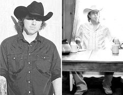 New albums from Mo Robson (left) and Nate Kipp reveal a simpler, less poppy country style.