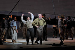 The whale was the only one not singing in Dallas Opera's world premiere of Moby-Dick, one of 2010's best productions.