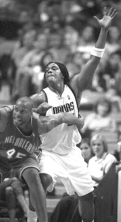 Danny Fortson, who came to the team in the Jamison trade, should provide the Mavs with a tough rebounding force--something the team has lacked for most of its existence.