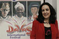 Anne Marie Weiss-Armush is organizing this Sunday's Dallas International Festival at the Majestic Theatre.