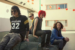 "You can't spell ""My Chemical Romance"" without ""emo."" No, really. You can't."