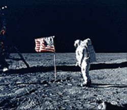 Is this photo of a moon landing fake? No way -- but try telling that to the guys who made Did We Go?