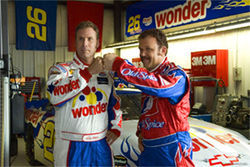 So Ricky Bobby was a jock? Please.