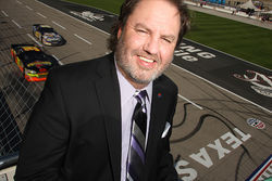 Eddie Gossage, Texas Motor Speedway's master marketer, tried to keep his deteriorating health a secret- until his hair began falling out.
