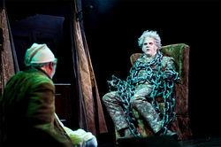 James Crawford brings the proper spirit to the role of Jacob Marley.