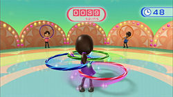 The latest in cutting-edge exercise is . . . a @#$&% hula hoop?!