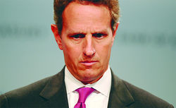 U.S. Treasury Secretary Tim Geithner had a front-row seat to the recent financial meltdown at his post as New York Fed chairman. Critics complain that he fiddled while Wall Street imploded and question whether he has the will to hold the culprits in the financial collapse accountable now.