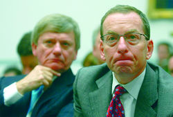 "Lanny Breuer, right, was tapped to head the Obama Justice Department's Criminal Division. He should be in familiar territory, since his clients at his former job with the major D.C. firm Covington & Burling included a ""rogues gallery"" of white-collar corporations and individuals under investigation or indictment."