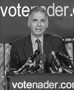 Go, Ralph, go: Nader says he'll really run for president this time.