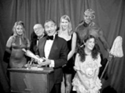Because Hollywood won't give Lloyd Kaufman an Oscar, or any other kind of respect, he had to give himself one.