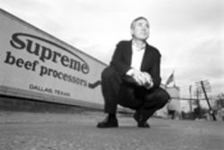 Steven Spiritas, CEO of Supreme Beef, keeps winning in court against the USDA, but his ground beef processing plant remains closed.