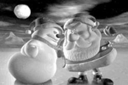 Not so jolly elf: Santa vs. the Snowman