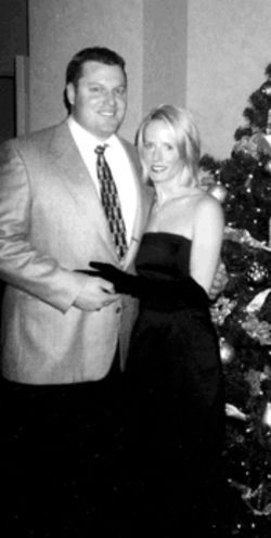 Dowdy and Mulac at Christmas 2000, just before she  was sentenced to 25 years in prison.