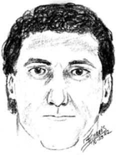 Dowdy worked with a forensic artist to create this sketch  of the man she remembers following her at the  Crosswinds.