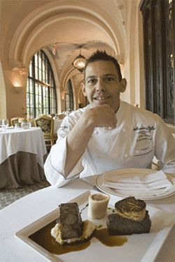 New chef John Tesar of the Mansion eschews bells and whistles in his dishes.