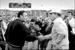 The 1970 Cotton Bowl Classic with Notre Dame and the University of Texas