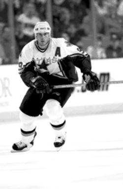 Lots of things have changed in hockey. Not so for the Stars: Mike Modano is still the offense.