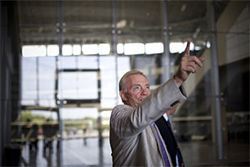 Jerry Jones has become the promoter-in-chief for his new stadium, giving personal press tours marked by his unabashed enthusiasm and  pride.