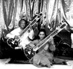 Ravi and Anoushka Shankar