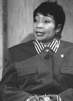 People in Cadillac Heights say Eddie Bernice Johnson, the city's first black member of Congress, is selling them down the river.