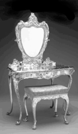 "William C. Codman's ""Dressing Table and Stool"""