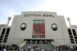For the new and improved Cotton Bowl to be a viable venue, it had better bring in some attractive sports gigs&amp;mdash;and fast.