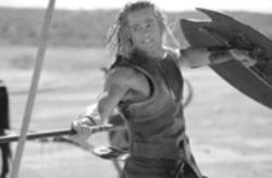 Nice pits, Mr. Pitt: Achilles has a bad heel, but the rest of his bod is awesome.