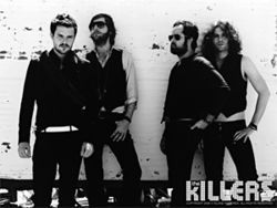 The Killers: singlehandedly trying to bring back the vest.
