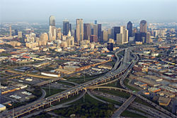 Get up in the air and look down. Places like this, in southern Dallas, get the back of the hand, even from southern Dallas officials. Go figure.