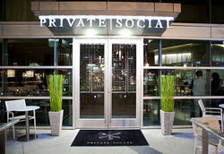 Private Social, where cameras roll, crowds roar and Tiffany Derry presents food less memorable than last season's TV schedule.
