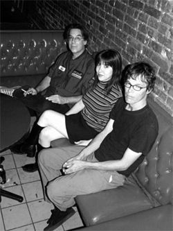 "Patricia Rodriguez (shown here with her band, the Shapes) wants ""fun for fun's sake."""