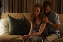 Nicole Kidman and Aaron Ekhart, grieving and dull