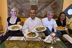 Matt Pikar (second from left) brings authentic, delicious Afghan dishes to North Texas.