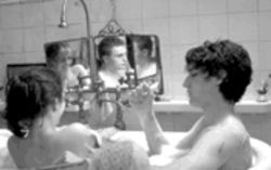A brother and his sister sharing a bath with a pal gets an NC-17 rating? Oh, those silly prudes at the MPAA.