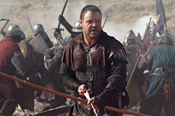 Russell Crowe as a Robin Hood that Glenn Beck will just love.