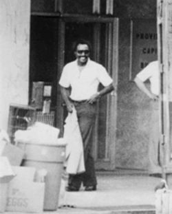 Shades and a smile: Wansley, here working undercover in Jackson, Mississippi, learned to deal with all manner of underworld operatives while he was an FBI special agent.