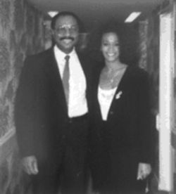 The bodyguard: Larry Wansley ran security for one of pop diva Whitney Houston's tours.