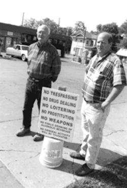 Instead of gouging and harassing people like Freddy, left, and Dale Davenport, who operate a car wash in South Dallas, the city should give them a municipal medal of honor.