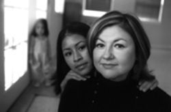 Yolanda Mendez, left, escaped her abusive uncle and  went to the Mexican Consulate for help. She met Susana  Loera, right, who would become her adoptive mother.