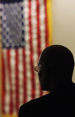 "Vietnam veteran Charles Clemons claims he was formally accepted into Dallas County's veterans court in May, but Judge Mike Snipes says his charge is ""too serious,"" leaving Clemons to attend court sessions as an outsider."