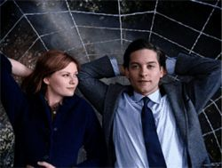 Kirsten Dunst and Tobey Maguire are slingin' more than web in Spider-Man 3.