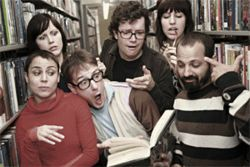 Of all people to be shocked by the return of the Rentals, it shouldn't be band founder  Matt Sharp (third from left).