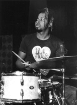 Earl Harvin, drummer-at-large
