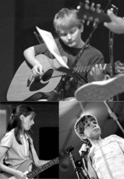 "Just don't call them recitals: Marc Solomon's students put on ""The Rock Show"" for parents and friends, featuring solo and group performances of classic songs and current radio hits."